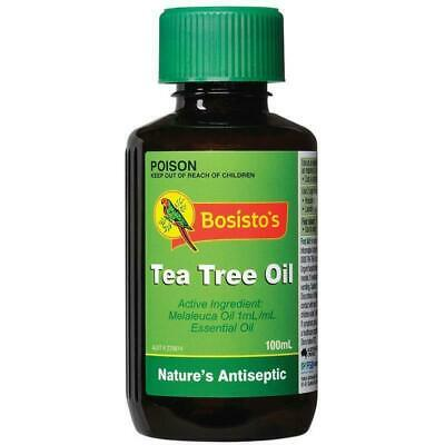 New Bosisto's Tea Tree Oil 100mL