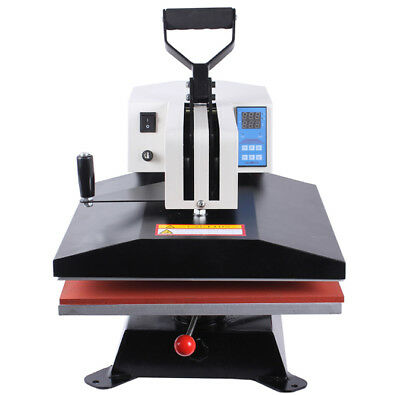 HIGH PRESSURE SWING AWAY HEAT PRESS MACHINE 38x38cm t shirt, sublimation ink