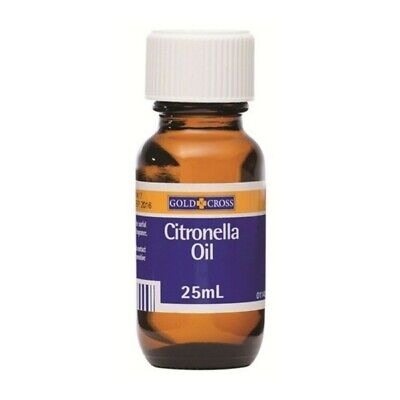 New Gold Cross Citronella Oil 25mL for Antiseptic, Antibacterial, Fragrance
