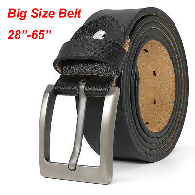Top Quality Mens Genuine Leather Belts 100% Cowhide Belt for Jeans Size S-9XL
