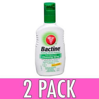 Bactine Pain Relieving Cleansing Spray, 5 oz, 2 Pack