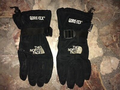 Men's Gore-tex The North Face Waterproof Black Ski/Snowboard Gloves M