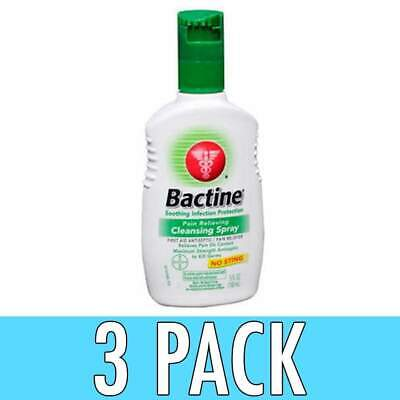 Bactine Pain Relieving Cleansing Spray, 5 oz, 3 Pack