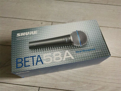 Shure Beta 58A Handheld Dynamic Vocal Microphone with Cable