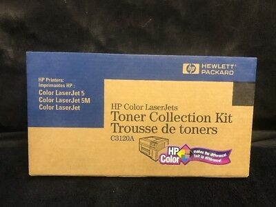 Genuine HP Color Laserjet Toner Collection Kit C3120A Sealed New in the box