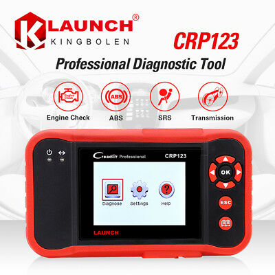 LAUNCH X431 CRP123 OBD2 EOBD Scanner OBDII Diagnostic Tool Fault Code Reader