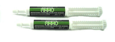 Ammo Green Rotational Wormer Palatable Horse Pony Pregnant Mares foals stallions