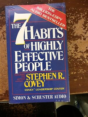 Seven Habits of Highly Effective People Cassette Covey