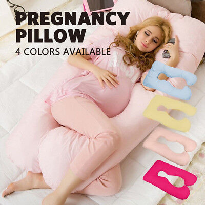 Maternity Pillow Pregnancy Nursing Sleeping Body Support Kids Feeding U shape