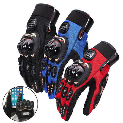 Motorcycle Gloves ATV MTB Race Full Finger Gloves Knight Touch Screen Breathable