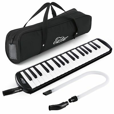 37-Key Melodica with Mouthpiece & Hose & Bag Assorted Colors