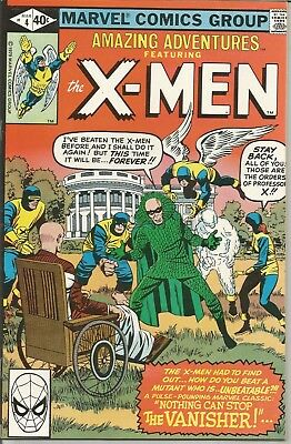 Amazing Adventures featuring the X-MEN - No.  4 (March 1980)