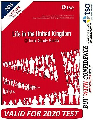 New Life in the UK Citizenship Test The Official Study Guide MARCH 2020 Book*STd