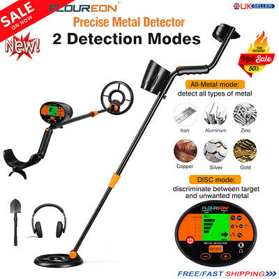 Deep Sensitive LCD Pinpoint Search Metal Detector Target Power Treasure Finder A