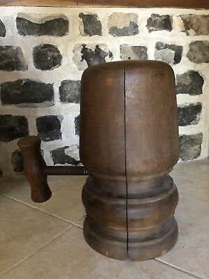 Antique Wooden Hat Stretcher/Block Working Condition.