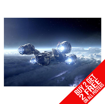 Prometheus Aliens Poster Art Print A3 A4 Size - Buy 2 Get Any 2 Free