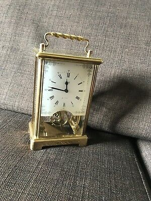 Carriage clock by Schatz of Germany. Nice condition. 8 day movement