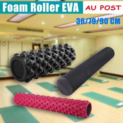 Foam Roller EVA Physio AB Yoga Pilates Exercise Back Home Gym Massage AU STOCK M