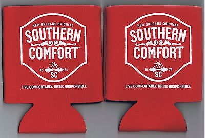 Southern Comfort Advertising Coozie Koozie Lot Bar Distillery New Orleans Booze