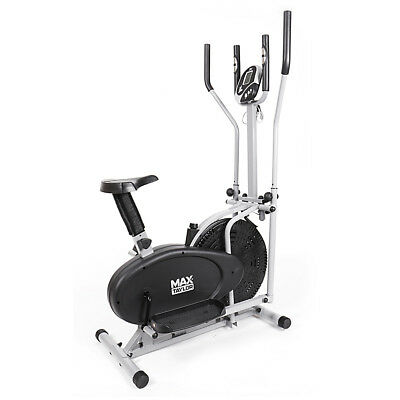 Max Taylor Pro - 2-in1 Elliptical Cross Trainer, Exercise Bike, Cross Trainer