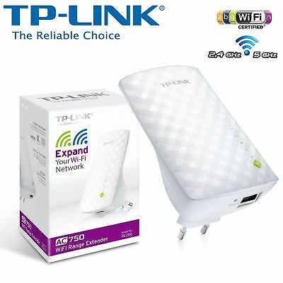 TP-Link RE200 Range Extender Universale/Ripetitore Wi-Fi AC750 750 Mbps