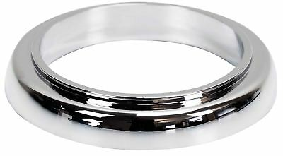 Kitchen/Bathroom Faucet Base Ring + Gasket Tap Washer Rosette Chromed Plastic