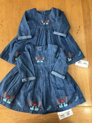 M&S Twin Baby Girl Dresses. Age 3-6 Months! BNWT!
