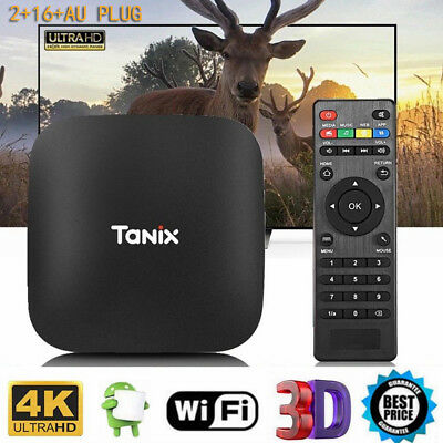 TX2 - R2 TV Box 2GB+16GB 1.5GHz WiFi 4K x 2K AU EU US UK PLUG Support H.265