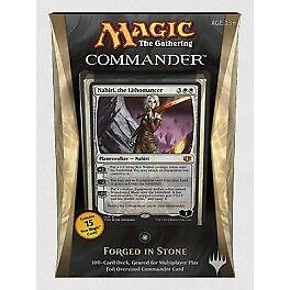 "Magic Commander 2014 Blanc / White ""Forgé Dans la pierre"" VF Français"