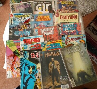 DC and Vertigo USA Comics 80s & 90s Bundle