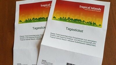 2 Tagestickets Tropical Island
