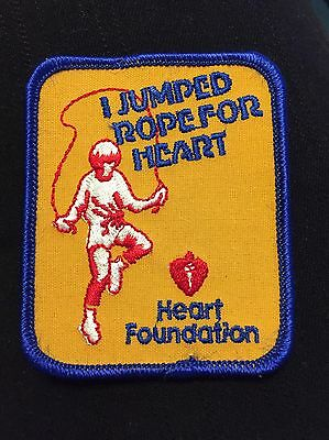 Jump Rope For Heart 'I Jumped Rope For Heart' Patch