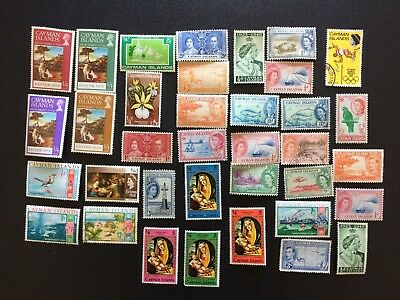 Cayman Islands Stamps Mint and used
