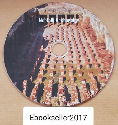 Norfolk Archaeology rare local history, 18 volumes of ebooks: history on disc