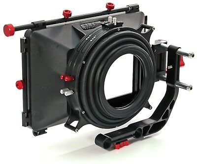 """shoot35 CINEbox 4x4"""" Matte Box with Top & Side Flags"""