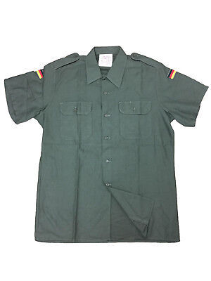 Genuine German Army Issued BW Olive Drab Short Sleeves Field Shirt