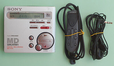 Sony Walkman MD Player  MZ-R70