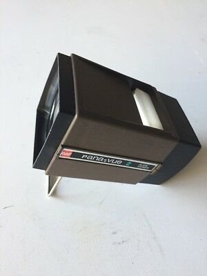 Vtg Gaf Pana-Vue 2 Illuminated 2x2 Slide Viewer Magnification USA Made Very Nice