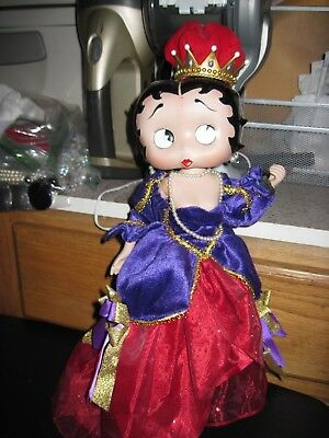 Danbury Mint? Betty Boop Queen Collectible Figurine.  Syd Hap