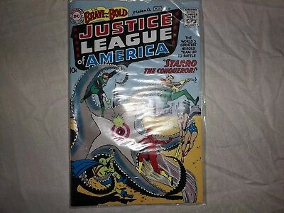 BRAVE AND BOLD #28 (DC SILVER AGE SALE) 1st JUSTICE LEAGUE OF AMERICA/ VG+