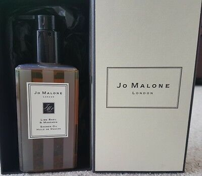 Jo Malone Lime, Basil & Mandarin Shower Oil - 250ml - Brand New In Box