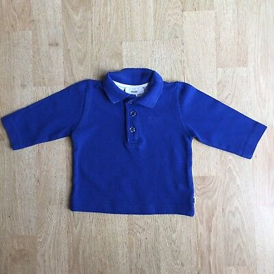 Blue Hugo Boss Polo Shirt Age 6 Months