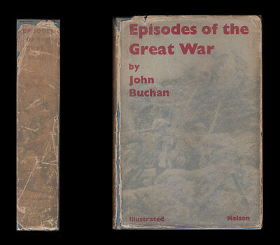 Buchan EPISODES OF THE GREAT WAR - Verdun YPRES Jutland SOMME Russia DARDANELLES