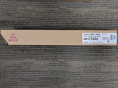 Genuine Ricoh MP C5502 Magenta Red Toner Cartridge 268072010