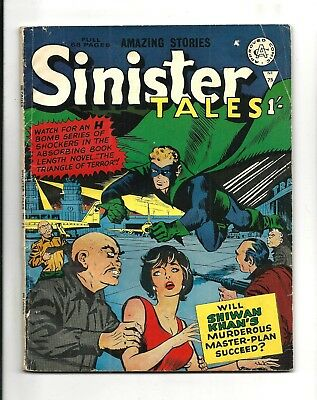 Sinister Tales # 75 (Alan Class Early 1/- Edition)