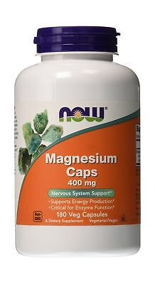 Now Foods Magnesium 400 MG Capsules 180