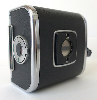 """Hasselblad Chrome A12 120 Film Back for Hasselblad V-System - Matched & """"AS IS"""""""