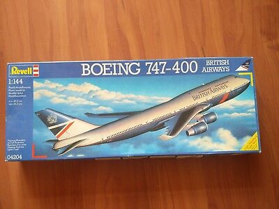 Revell 04204 1:144 Boeing 747-400 British Airways Modellbausatz