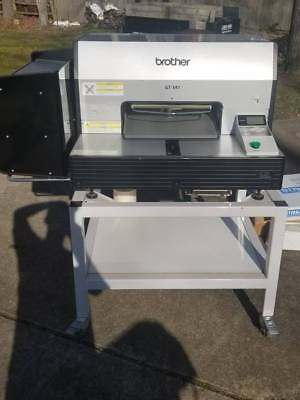 Brother GT-541 Direct to Garment Printer Machine, Hotronix Heat Press, Shirts