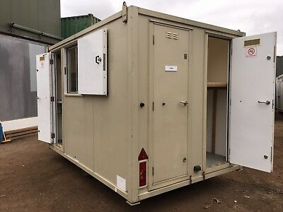 Welfare Unit Towable AJC Canteen Dry Room Toilet Generator Anti Vandal Steel